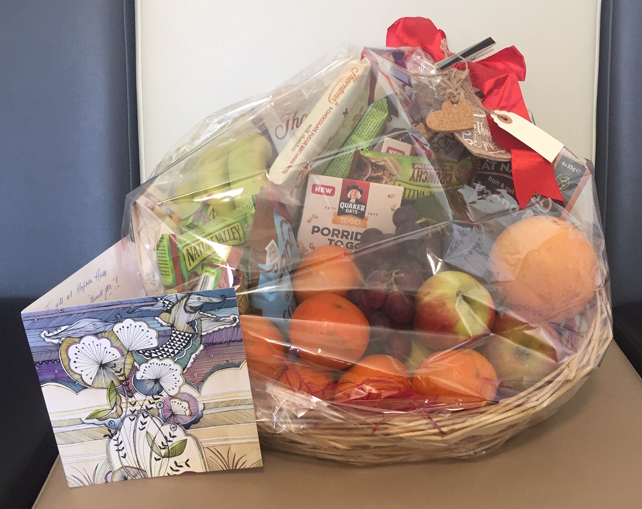 Present from a patient to Hafren House Dental Alfreton
